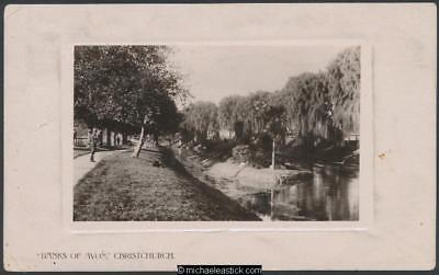 Christchurch - Avon River and its banks