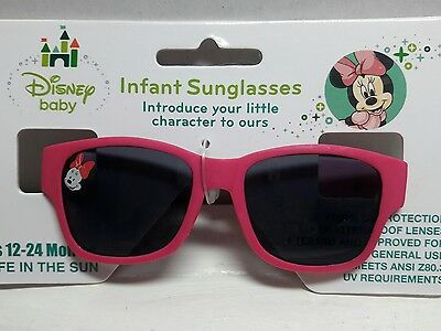 Minnie Mouse Infant  Sunglasses Age 12-24 Mo. Pink, Disney Baby Last ones