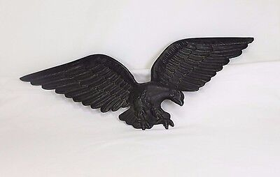 Vintage Cast Aluminum Eagle Wall Hanging Wall Decor American Bald Eagle