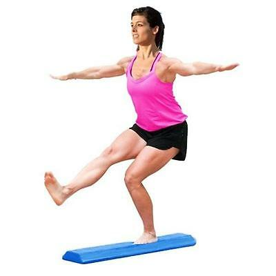 New Foam Floor Gymnastics Balance Beam 90CM x 19 CM x 6CM Blue Adults & Kids