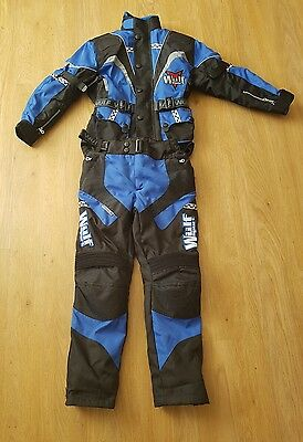 new wulfsport kids jacket and trousers