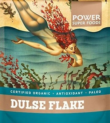 Certified 100% Pure Organic Dulse Flakes Power Super Foods 50g 100g 200g 300g