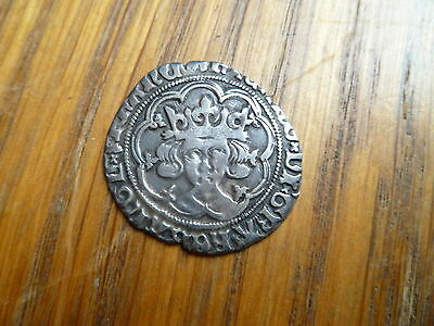 Richard Iii 1483-1485 London Mint Groat, Mm Halved Sun/rose, Nice Portrait