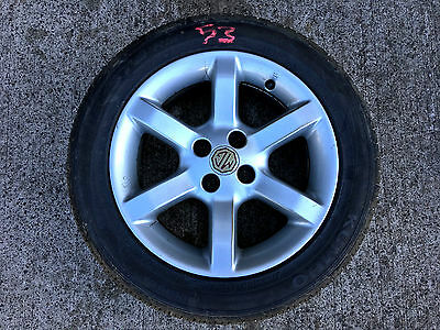"Mg Tf Mgf 1.8 1.6 *14K! Very Nice!* - Alloy Wheel 15"" & Kumho Ecsta Tyre (53)"