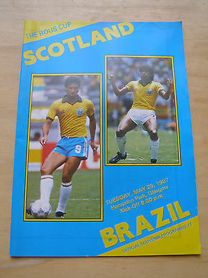 Scotland v Brazil May 26th 1987