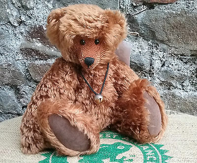 Retired artist mohair teddy bear 'Brewster' by Whisty Bears, Ltd.Ed.3 of 20,tags