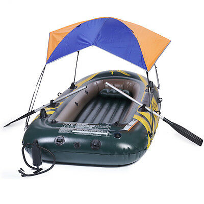 Sun Shelter Fishing Tent Inflatable boat Rubber Boat for 2 person Boat Awning