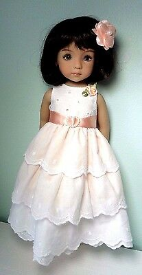 Pixies Hand Made: Occasion Dress : Compatible With 13 Ins Doll Little Darling