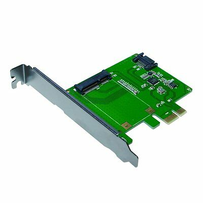 LogiLink PC0077 PCI Express Card with 1 x mSATA Solid State Drive/Hard Drive