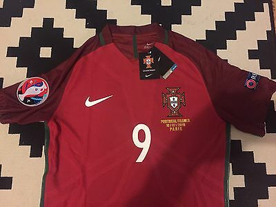 Maillot Portugal Eder Finale Euro Neuf Player Version Taille S, L Ou XL Ronaldo