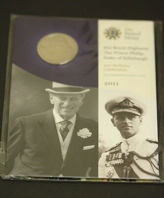2011 Prince Philip Five Pound £5 Brilliant Uncirculated Sealed Coin