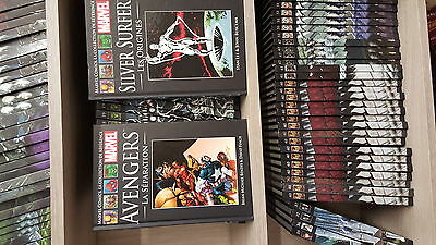 Marvel Comics La Collection De Reference Hulk X-Men Iron Man Thor Spiderman