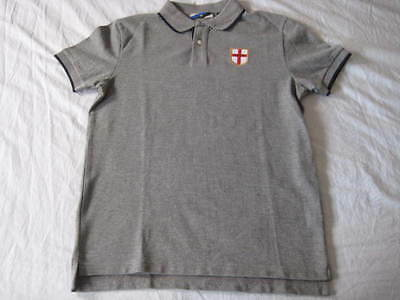 Inter Fc grey polo shirt Medium size New without tags