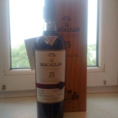Macallan 25 YO Sherry Oak 0,7