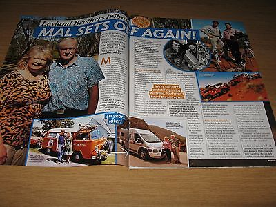 THE LEYLAND BROTHERS - 2 page magazine clipping - Mal & Mark Leyland