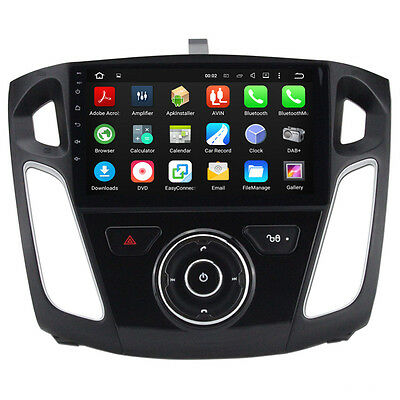 Android 6.0 Octa Core Car Stereo DVD GPS Navigation Player For Ford Focus 2012