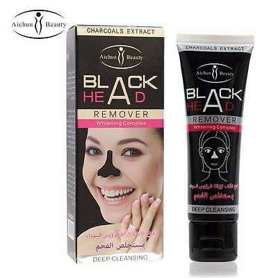 50ml Charcoal Blackhead Remover Peel-Off Facial Cleaning Black Face Mask 4 for 3