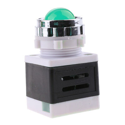 Indicator Signal Warning Light Lamp Green LED for Electric Power Machine