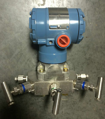 New Rosemount Differential Pressure Transmitter Integral Manifold DP Smart Hart