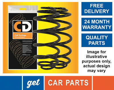 New Cd Autoparts Rear Coil Springs (Bagged Pair) Renault Clio Mk2  (1998 Onward)