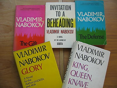 lot: 5   VLADIMIR NABOKOV books (hardcover and softcover)