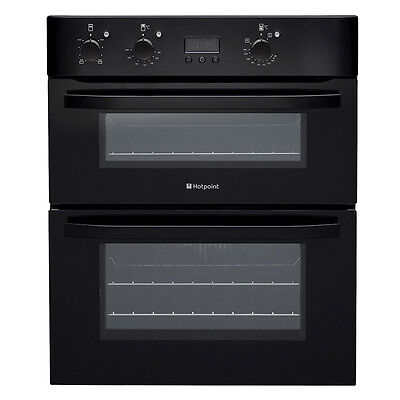 BRAND NEW Hotpoint UHB83JK Built-Under Double Fan Assist Oven, Top Oven & Grill