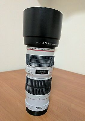 Canon EF 70-200mm USM  L series lens in excellent condition
