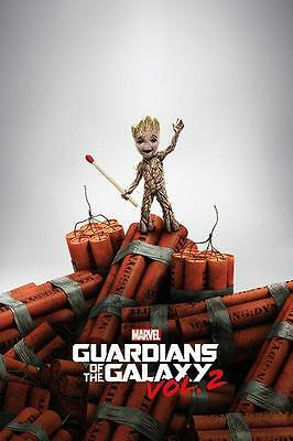 NEW * GROOT * GUARDIANS OF THE GALAXY MAXI POSTER 62cm X 91cm PP34158 - 3