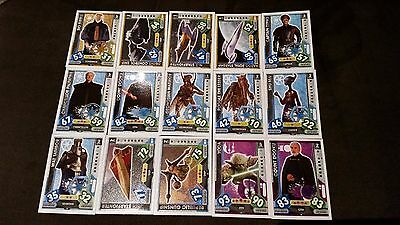 Force Attax Star Wars Universe Lot 1... 15 cards