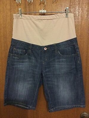 maternity shorts jeanswest 12 rollup