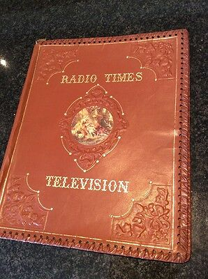 Vintage Leatherette Radio Times television Brown Cover Classical Lovers
