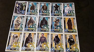 Force Attax Star Wars Universe Lot 2... 15 cards