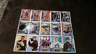 Force Attax Star Wars Universe Lot 4... 15 cards