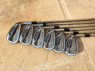 Série fers Taylormade RSI 2 forged 5-p shaft KBS tour 105 stiff année 2016