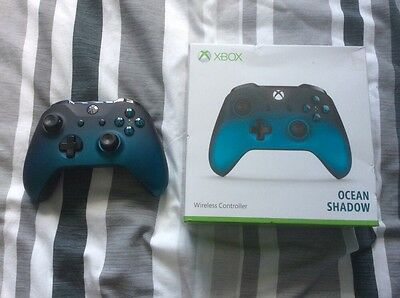 Microsoft Ocean Shadow Xbox One Controller - New Condition