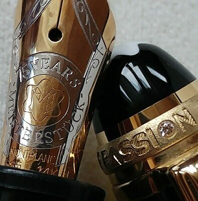 """MONTBLANC *MST* ROSE GOLD N°146 FÜLLER """"Anniversary 75 Years Edition"""" LE GRAND"""