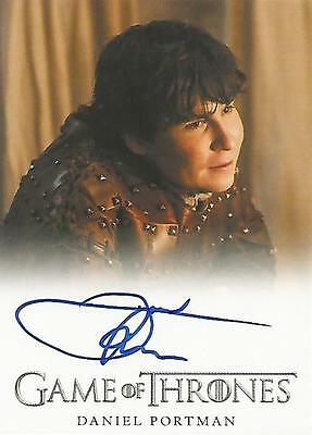 "Game of Thrones Season 5 - Daniel Portman ""Podrick Payne"" Autograph Card"