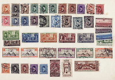 Egypt Stamps Collection Used(L001)