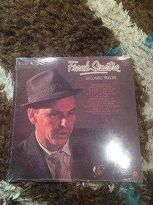 Frank Sinatra 20 Classic Tracks 1981 Sealed Mint Vinyl Record Brand New In Wrap