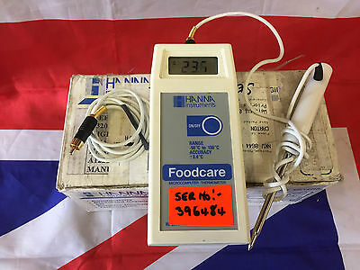 Hanna Foodcare Food Thermometer Ex British Army Used Grade 1 (type2)