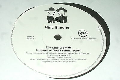 Nina Simone – See-Line Woman       2002   MASTERS AT WORK...EX CON!!