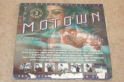 The Motown Collection 3xLP   1990    CLASSIC MOTOWN!!