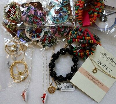 21 Pc Collection Lot ASSORTED FASHION JEWELRY Necklace Earrings NEW Wholesale