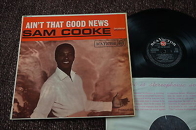 SAM COOKE Ain't That Good News (RCA Victor UK Original STEREO LP 1964) Nice!