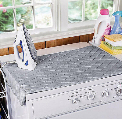 Table Top Folding Portable Caravan Travel Ironing Blanket Board Cover Mat HE