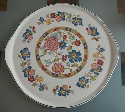 12 inch  Myott Orient Franciscan Dynasty Collection pizza platter cake plate