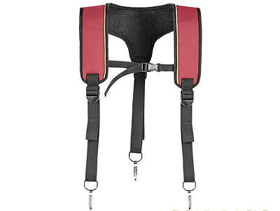 [Sale] Authentic MAKITA Red Super  Heavy Weight Support Braces 66-106 Tool Belt