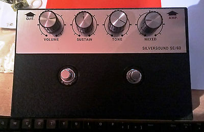 Rare Silversound Se/60 Se 60 Fuzz Made In Italy 1978 W/ Original Plastic Case