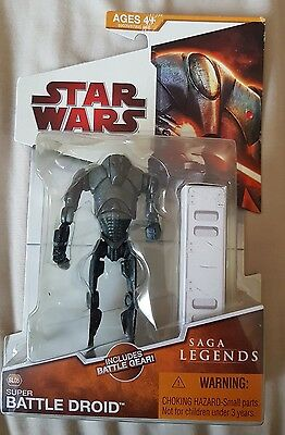 Star Wars Legacy Collection Saga Legends Collectable Action Figure.