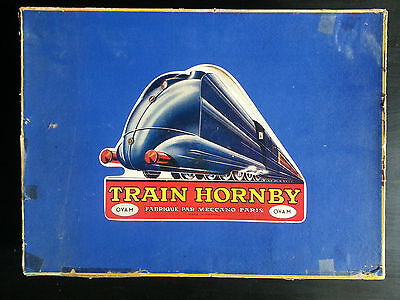 Coffret TRAIN HORNBY OVA M Meccano Paris
